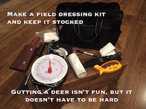 Five Tips on Field Dressing Deer