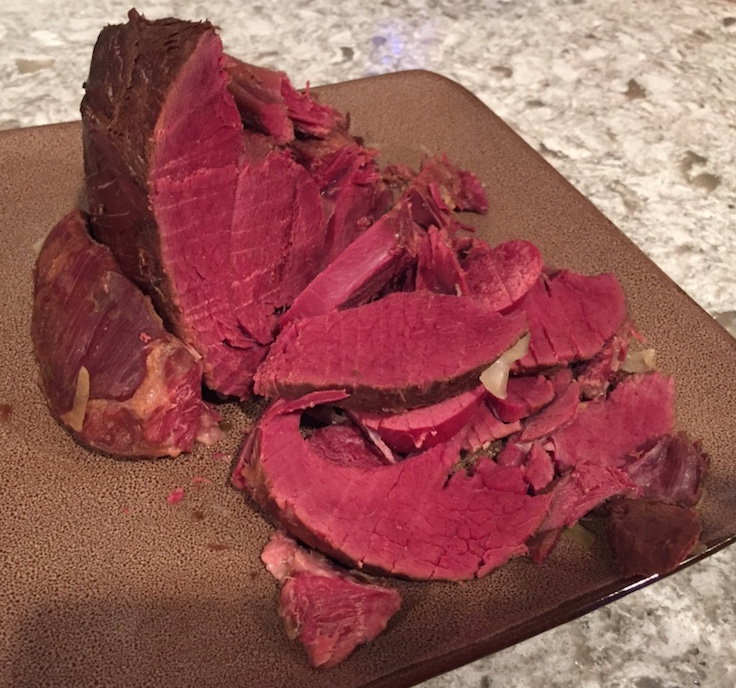 The Sirloin Tip is a great choice for corning your venison - the size is perfect for a family meal or making sandwich meat slices.