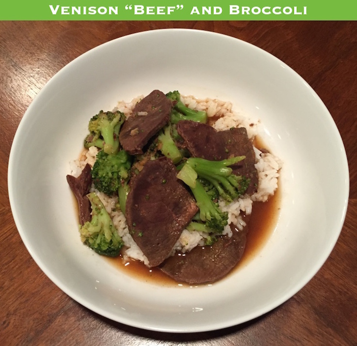 Crockpot Venison Beef and Broccoli