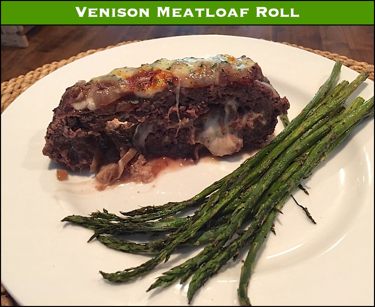 Venison Meatloaf Roll