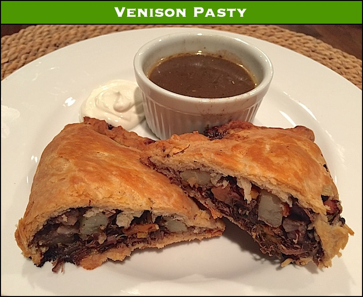 Venison Pasty – The perfect camp meal